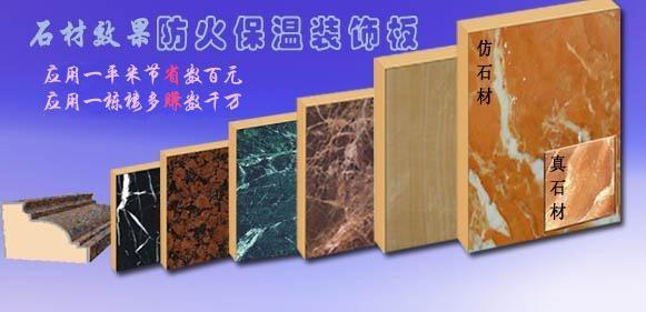 节能防火保温装饰一体板